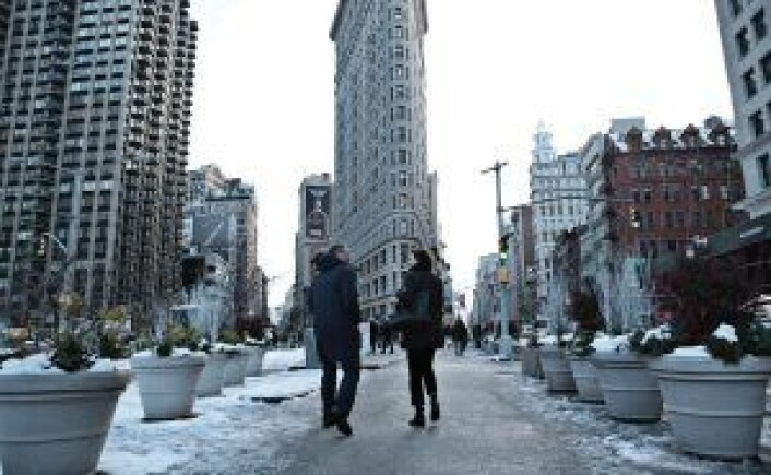 New york, New York! Det blir hjemmearenaen for Bubbly-gründene i tiden fremover. Foto: Julie Evensen