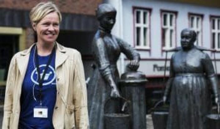 Beate Due har hatt god pågang i Tøyen Startup Village