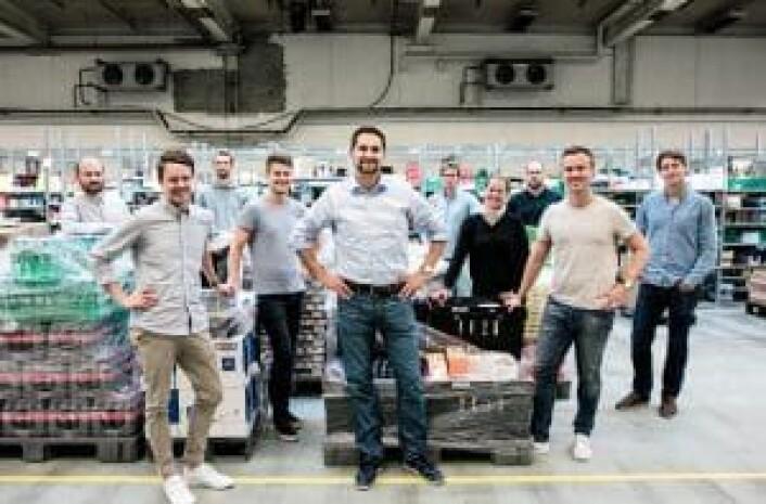 FOSSER FREM: Kolonial.nos gründere har skapt Norges største dagligvarebutikk på nett i løpet av få år. Foto: Kolonial.no
