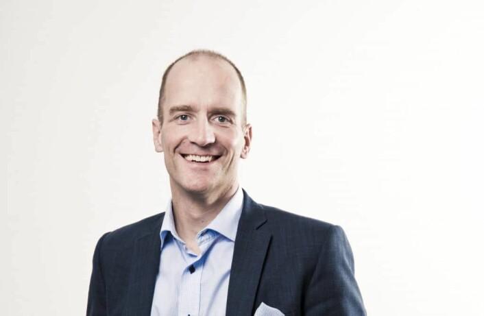 Rune Sævik, kommunikasjonsansvarlig i Investinor.