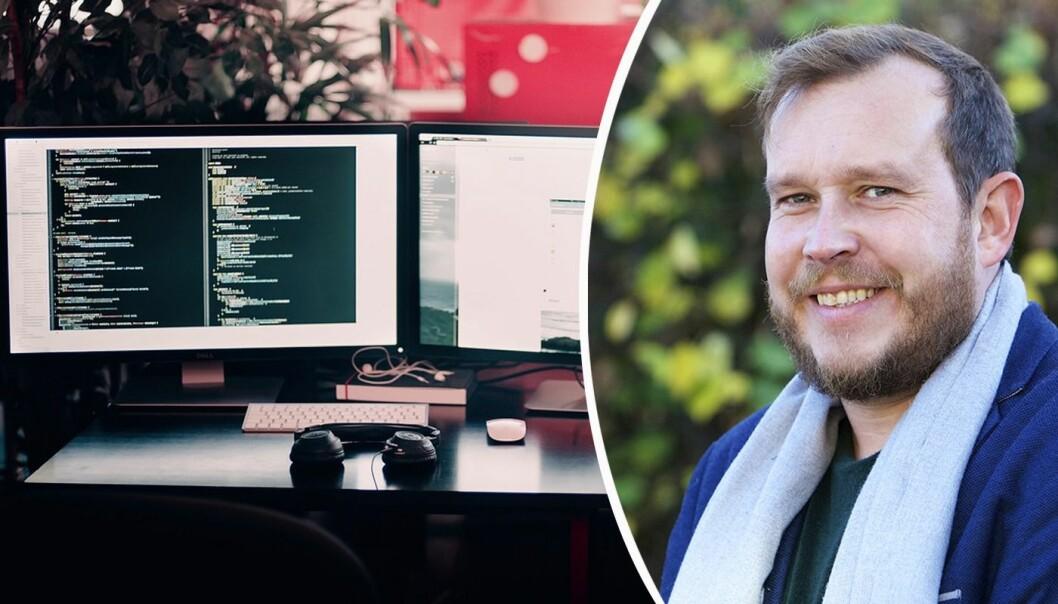 Jørn Haukøy er General Manager i Code 11. Foto: Trond Heggelund