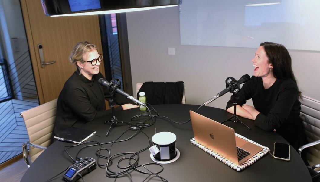 Time to Riot-gründer Kimberly Larsen i samtale med Inzpire.me-gründer Marie Mostad.