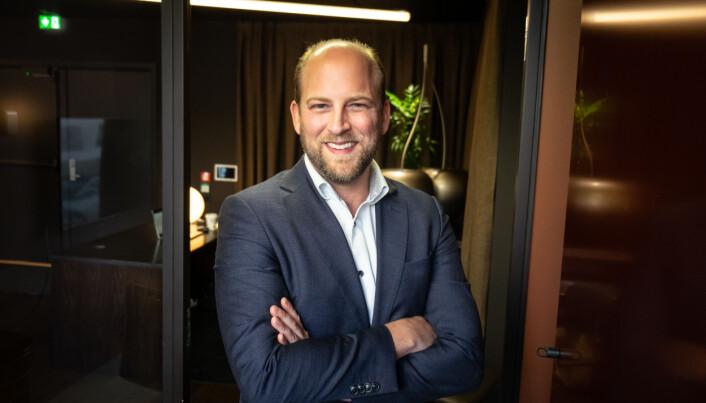 Investeringssjef i Klein Ivest, Fabian Qvist.