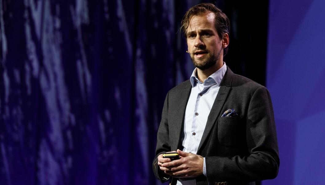 Director for Organization transformation i Deloitte, Frode Sivertsen