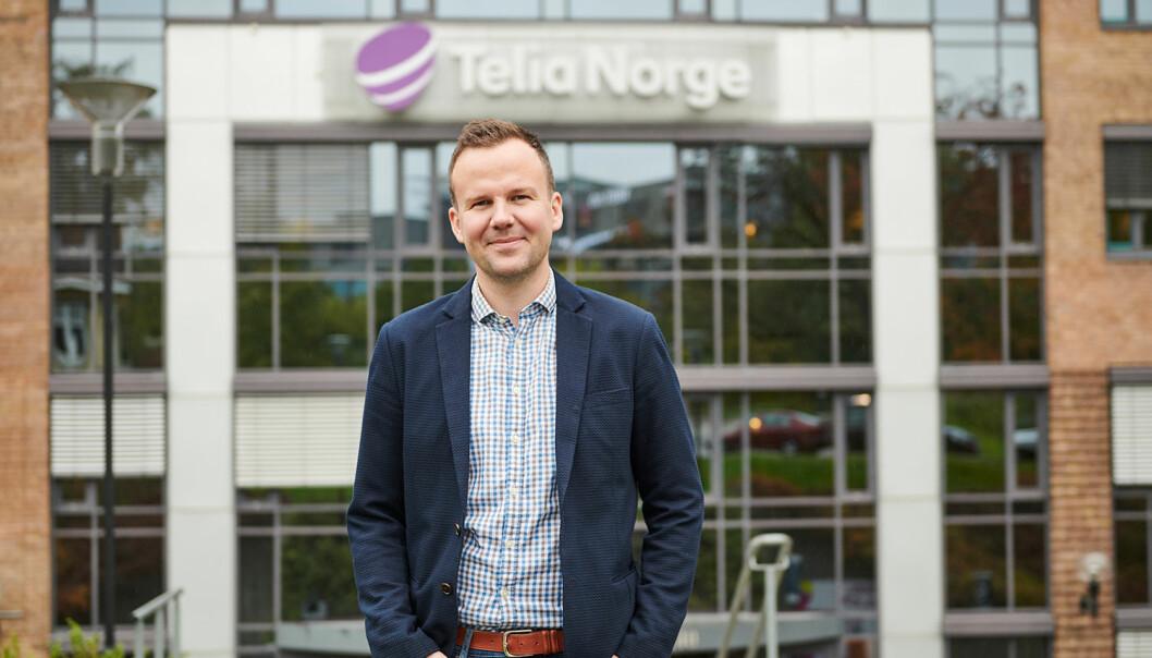 Håkon Lofthus, direktør personmarked i Telia.