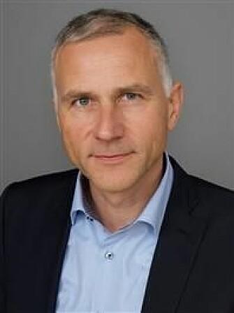 Informasjonsdirektør Tom Staavi i Finans Norge.
