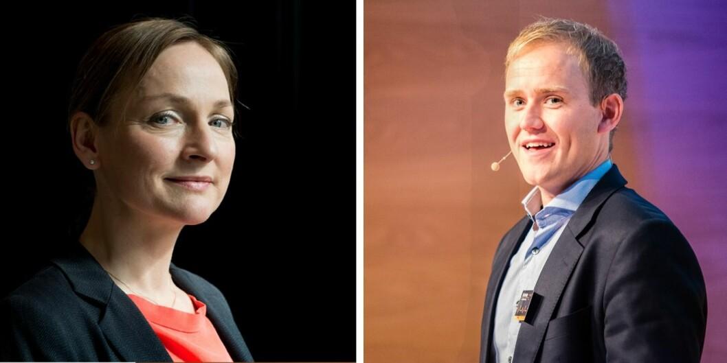 Liv Freihow i IKT Norge og Geir Atle Bore i FundingPartner er begge positive til rammeverket for regjeringens nye regulatoriske fintech-sandkasse.