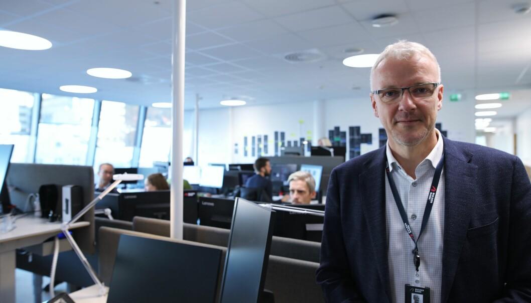 Torvald Kvamme er direktør i Bulder Bank.