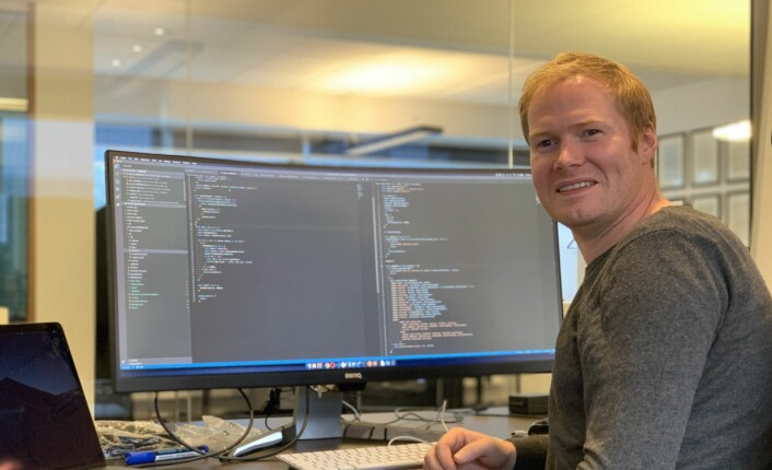 Vår CTO og IT-arkitekt Jørgen Landsnes ønsker nye utviklere velkommen i teamet sitt!