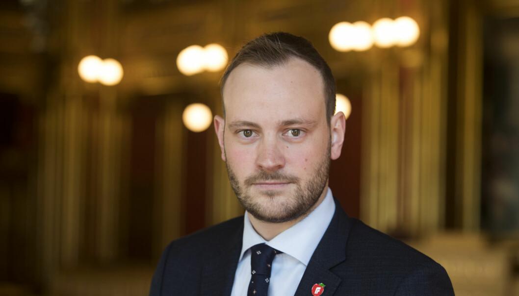Frps finanspolitiske talsperson, Sivert Bjørnstad.