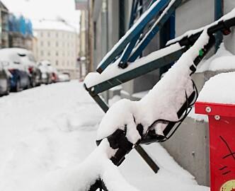 Kommunen ga klar beskjed: Sparkesykler i snøvær kan bli dyrt