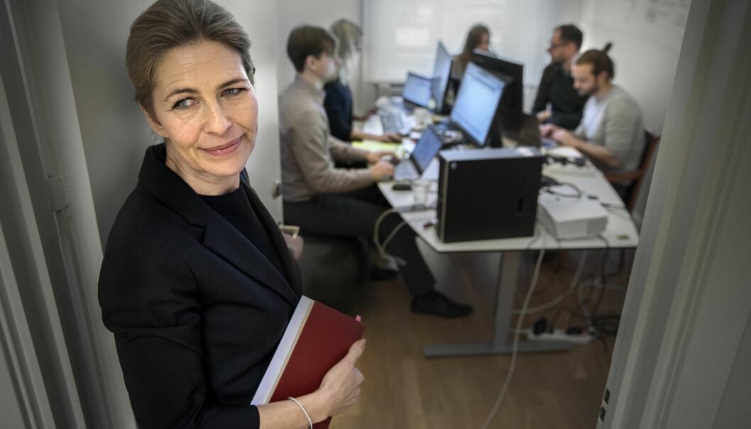 Mia Brunell Livfors er administrerende direktør i Axel Johnson-konsernet.