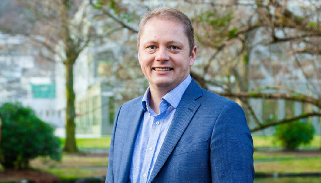 Kristian Bruarøy, daglig leder i Bridj