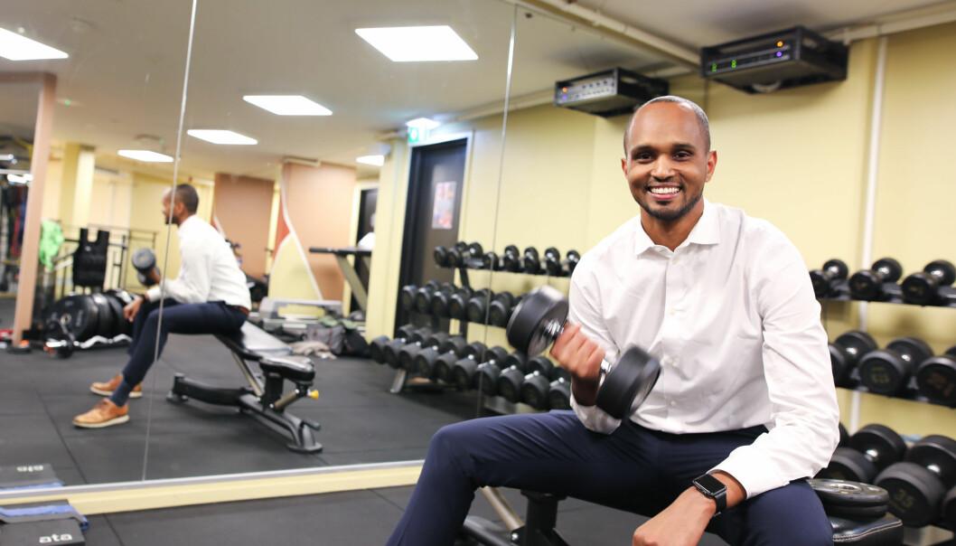 Abdi Guleed er gründer av treningssenter-plattformen Ikseed.