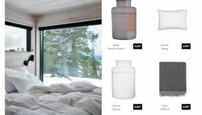 Miljøbilder skaper rom for inspirasjon i nettbutikken