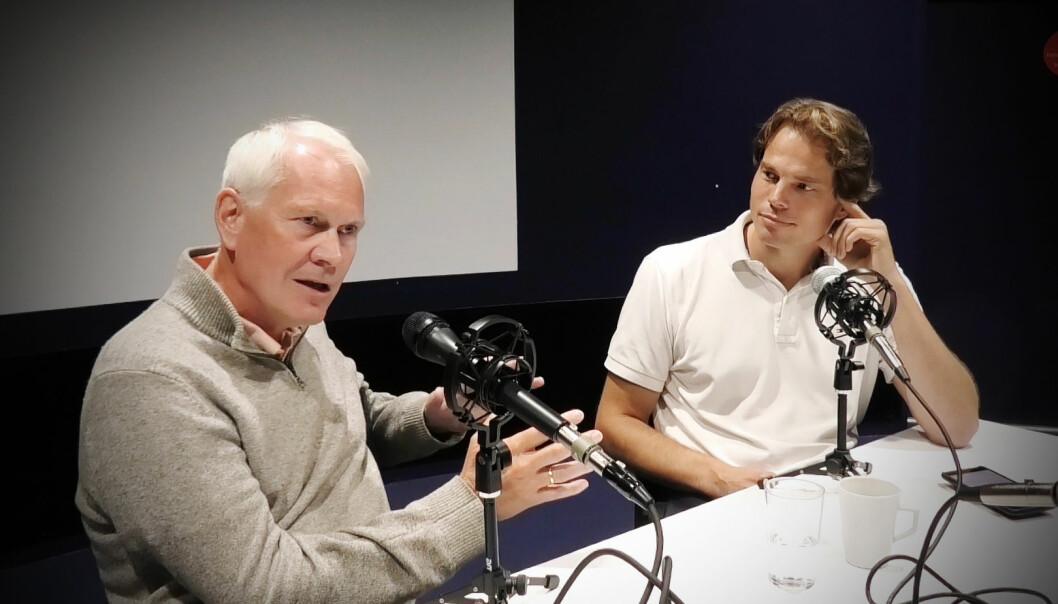 Petter Muren har gründet Prox Dynamics og Erik Færevaag har gründet Disruptive Technologies.
