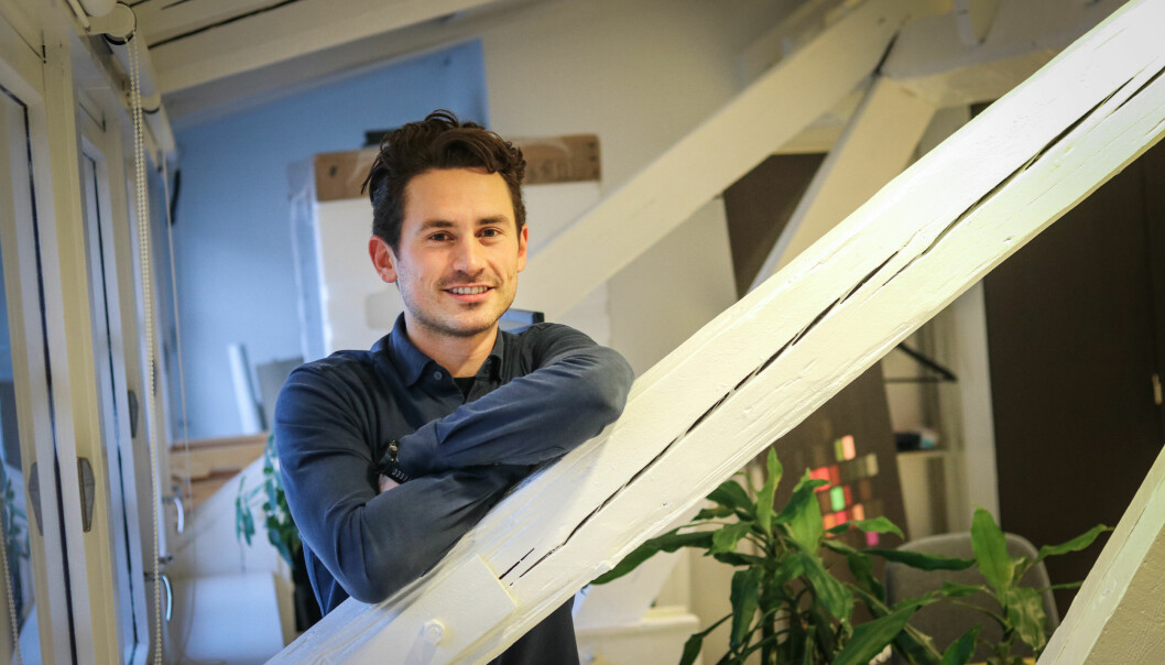 CEO i Graphiq, Jakob Palmers