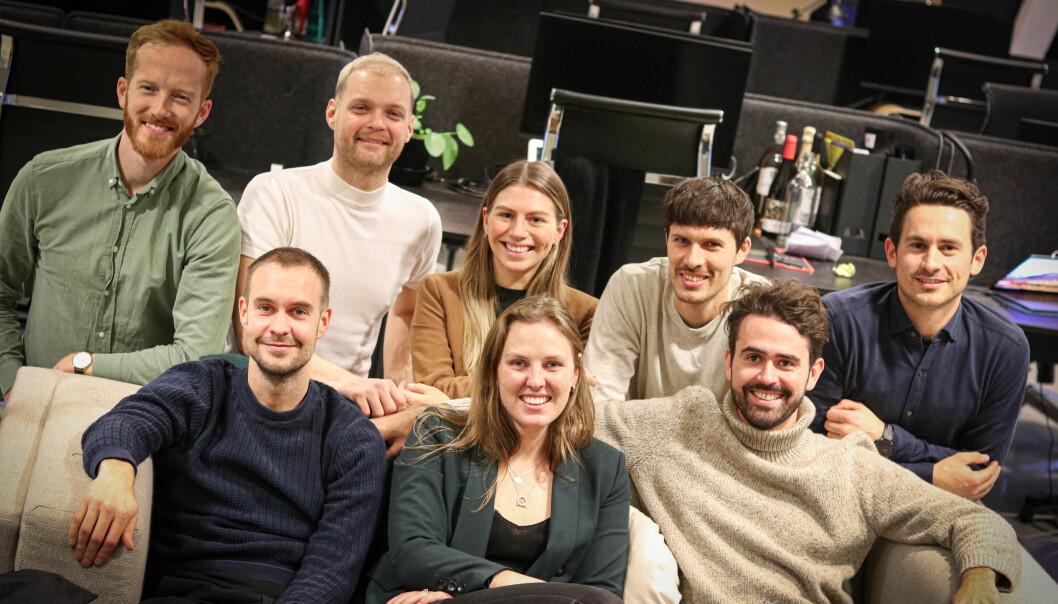 Bak: Erik Sandsmark, Andrè Wærness-Vold, Anette Koch Jubskås, Emil Sebastian Pete, jakob Palmers. Foran: Fredrik Hillestad, Ingerid Monsen, Frede Fardal.