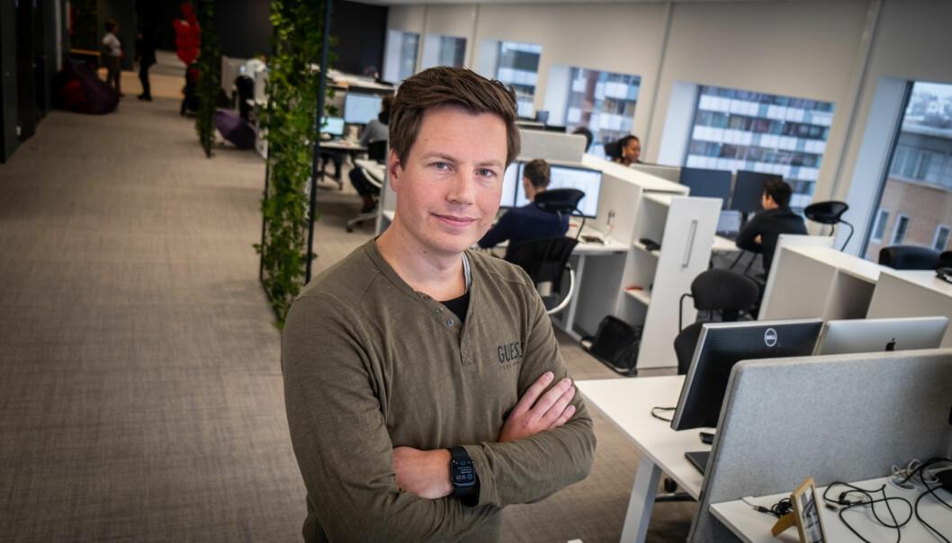 Frode Jacobsen er finansdirektør i Opera.
