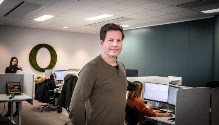 CFO i Opera Software, Frode Jacobsen.
