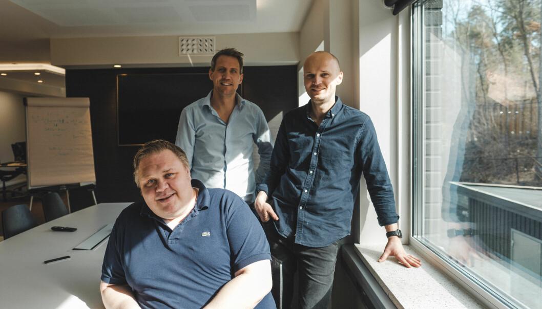 Fra venstre: Karl Einar Kaalstad, Marius Lindholt og Haakon Skavhaug-Flender