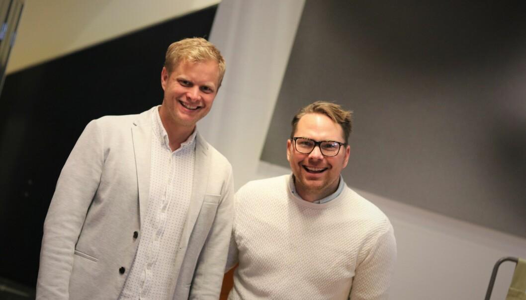 Cavai-gründerne Tommy Torjesen og Steffen Svartberg