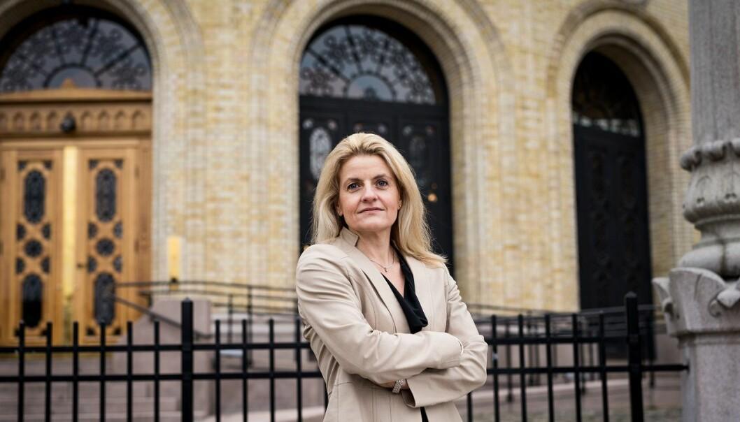 Forbrukerdirektør Inger Lise Blyverket.