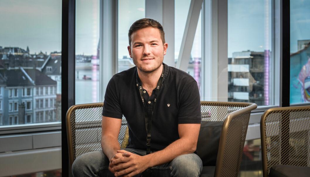 Magnus Tovsen Solheim etablerte matappen Grabster i 2016. Nå er han UX-designer i TV 2. I dette intervjuet deler han fra lærerike år i sin startup-debut.