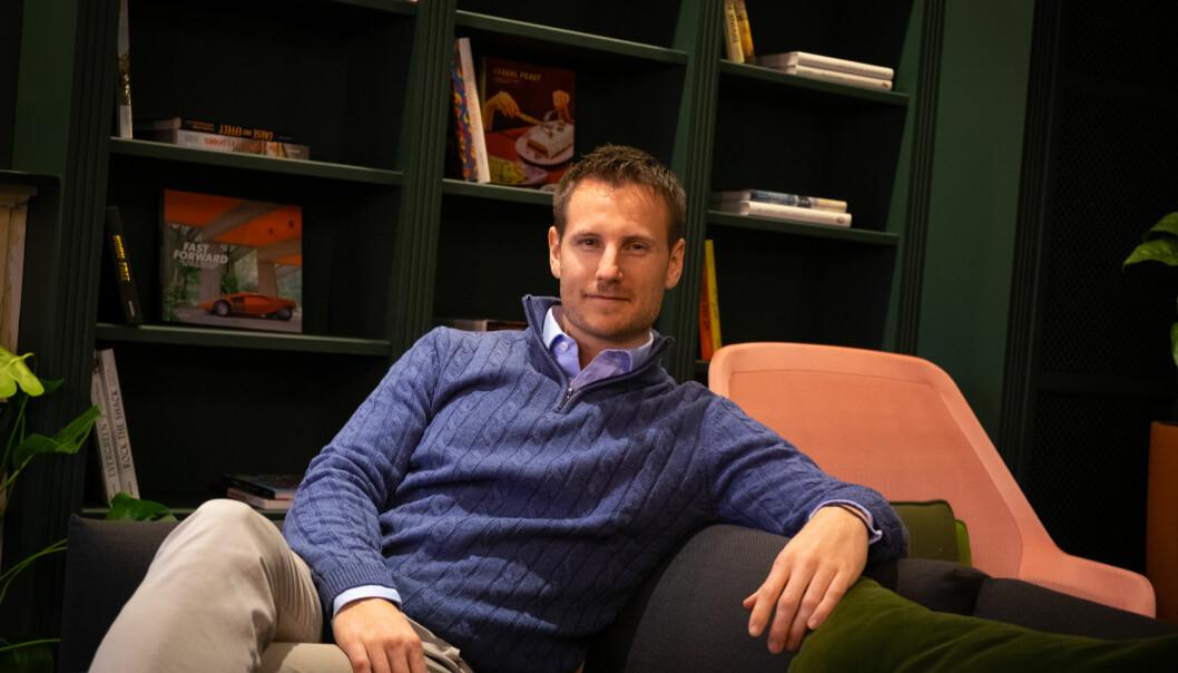 CEO i Eduplaytion, Kristoffer Hundershagen