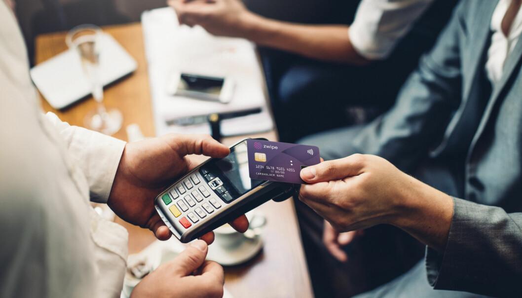 Zwipe utvikler betalingskort med biometrisk identifisering.