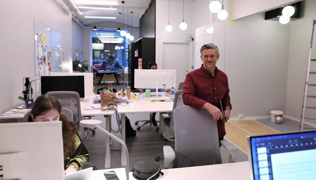 David Baum er daglig leder i Finstart Nordic.