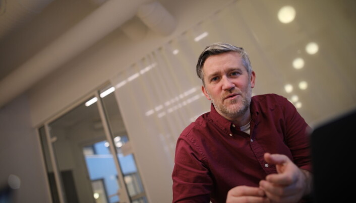 David Baum i Finstart Nordic.