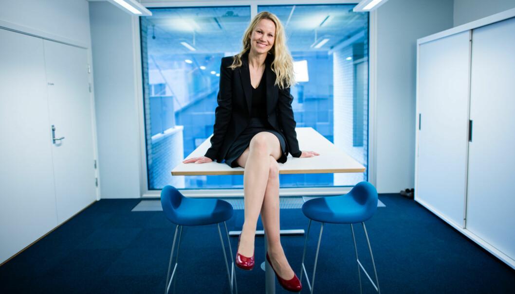 Aina Lemoen Lunde er merkevare- og markedsdirektør i DNB.