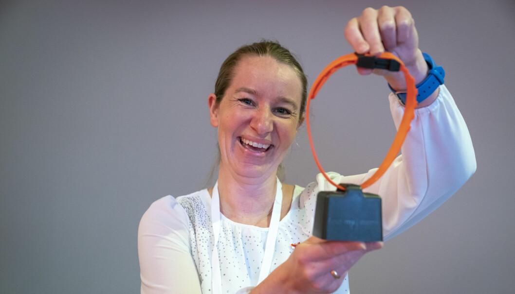 Gründer i FindMy, Marit Mjøen Solem, har plassert bjeller på både sauser, kameler og elefanter. Nå skal de passe på båter