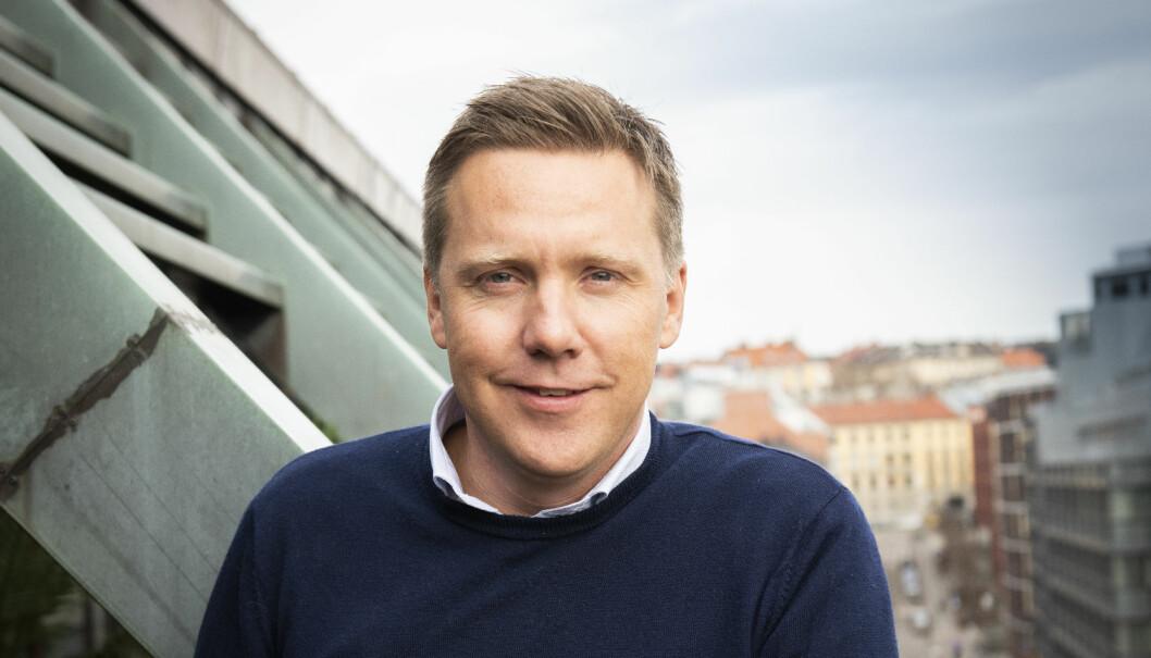 Daglig leder i Husleie.no, Kjetil J. Olsen.