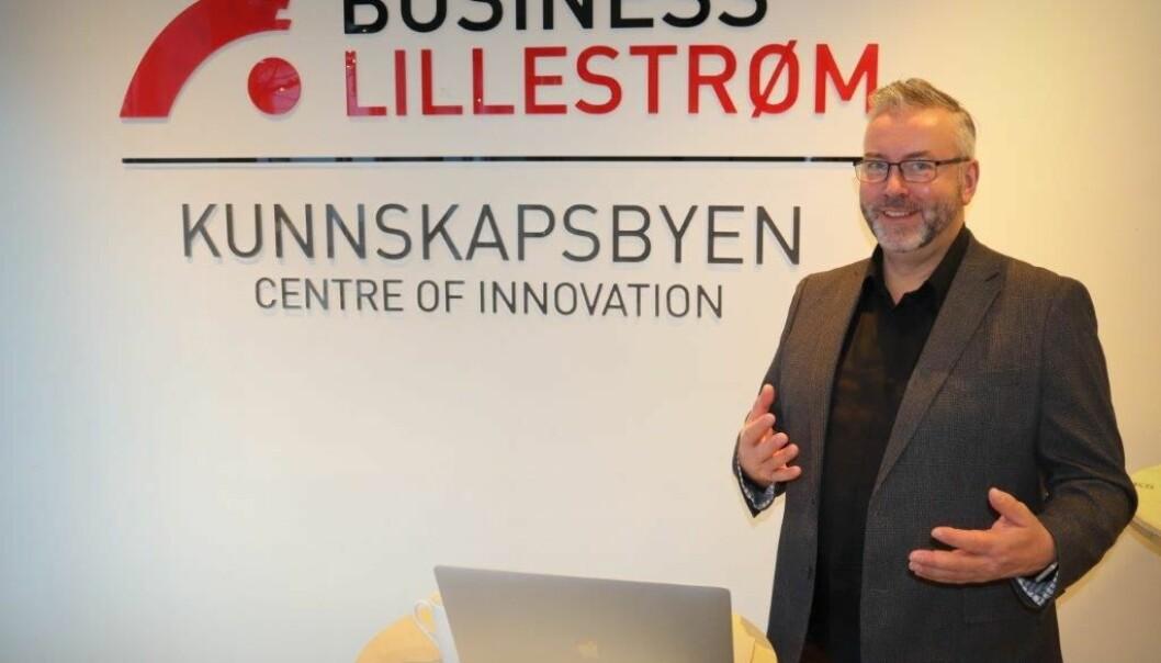 Bjørn Skovli fra Oppover er en av flere spennende kursledere du møter hos Etablerertjenesten Nedre Romerike.