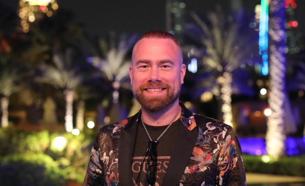 Mediegründer Björn Myreze har tidligere bodd i Dubai.