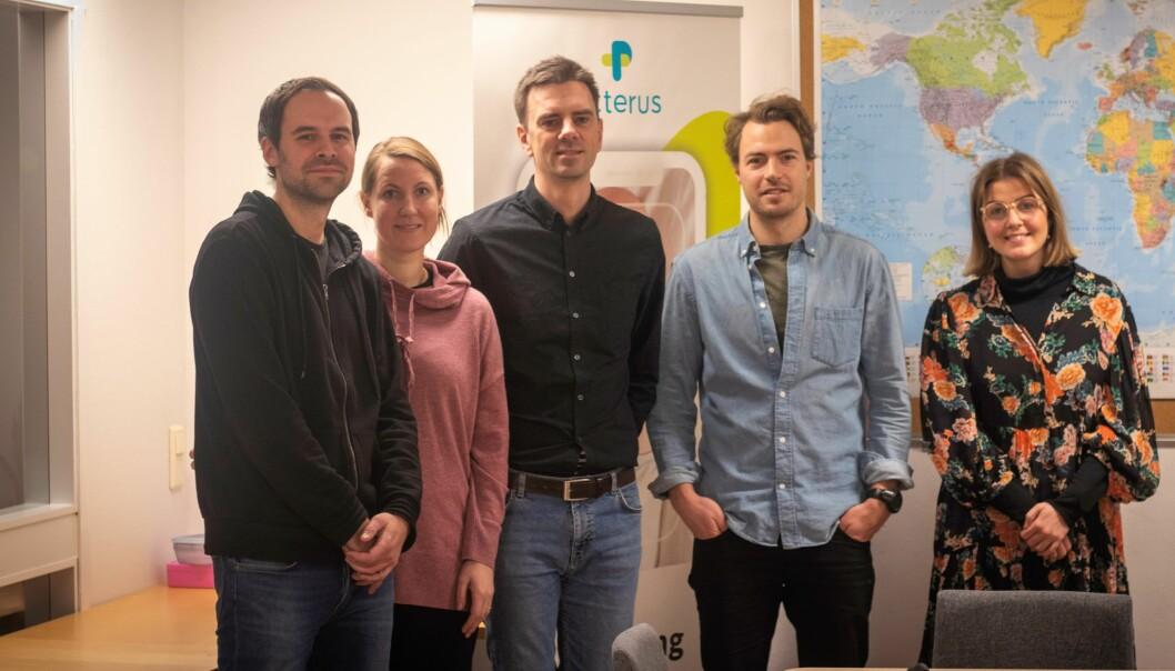Espen Rogstad, Irene Ytterdal-Larsen, Anders Aune, Anton Hasselgren,og Eline Bjørnstad