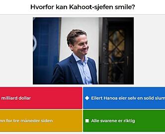 Kahoot kjøper finsk læringsteknologi i avtale verdt opptil 100 millioner kroner