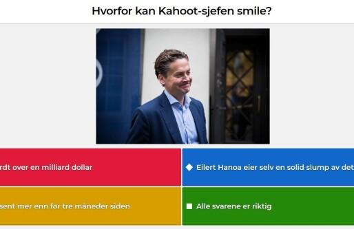 Kahoot ansetter Visma-topp som salgssjef