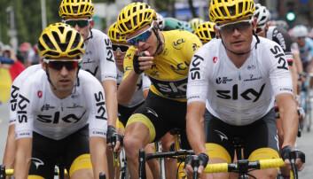 Team Sky kjørte inn til sammenlagtseier og lagseier i Tour de France i 2017. En del av suksessformelen var Oggianos superdrakt.