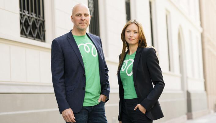 Kommersiell leder Marius Dybdahl og Markedssjef Marie Moxnes Harfjeld.
