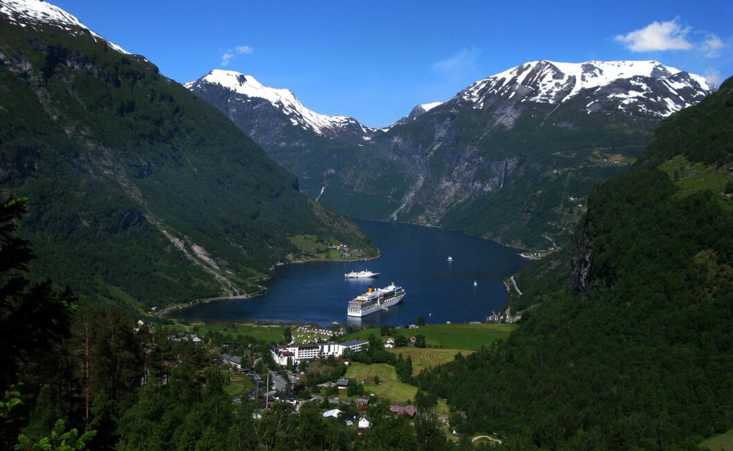 Geiranger er et de mest populære reisemålene for turister som besøker Norge.