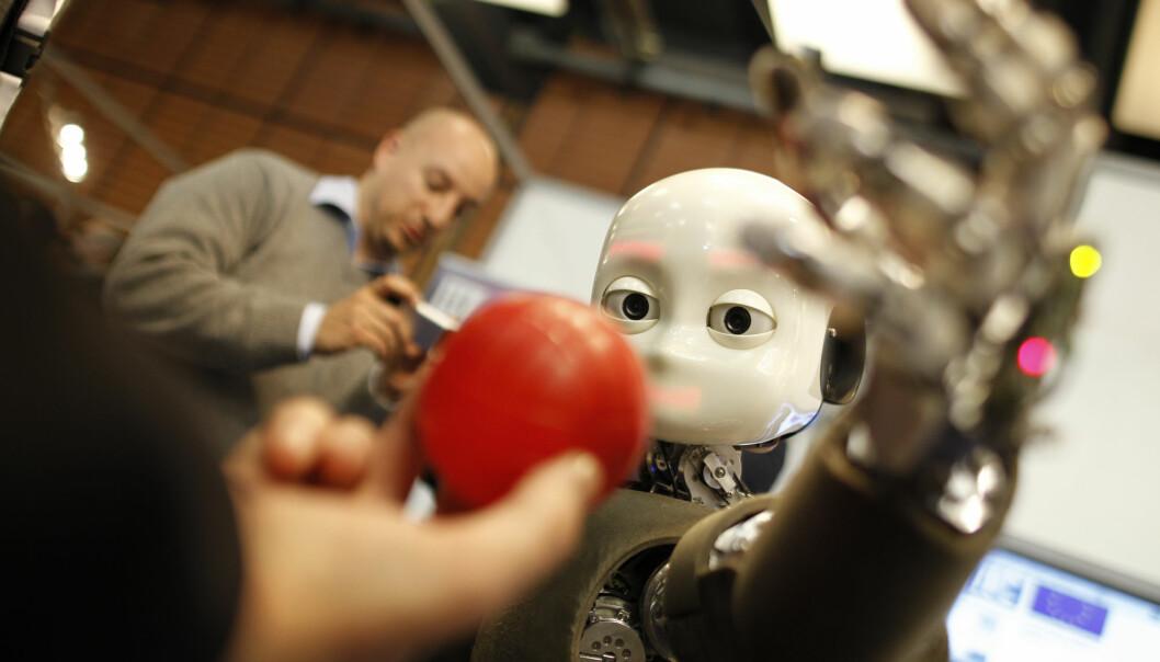 Dominic Robinson skriver om etikk knyttet til AI. Illustrasjonsfoto: AP Photo/Laurent Cipriani