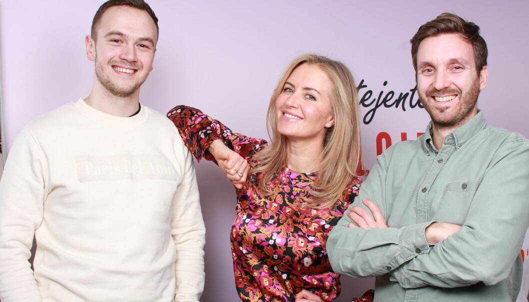 Andreas Kristiansen, Jeanette Dyhre Kvisvik og Jarle Snertingdalen i Villoid.
