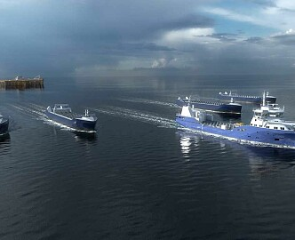 Norske forskere får 200 millioner til selvkjørende skip