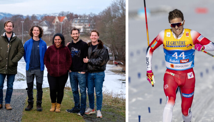 Didrik Tønseth på glid med egen gründeridé: Gjør treningsøkten til valuta