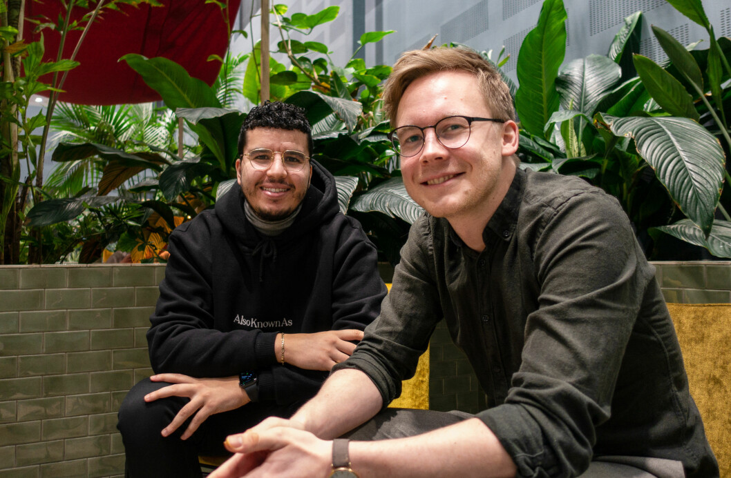 Nassir Achour, Managing Partner, og Martin Knutli, ny analytiker i Reodor.