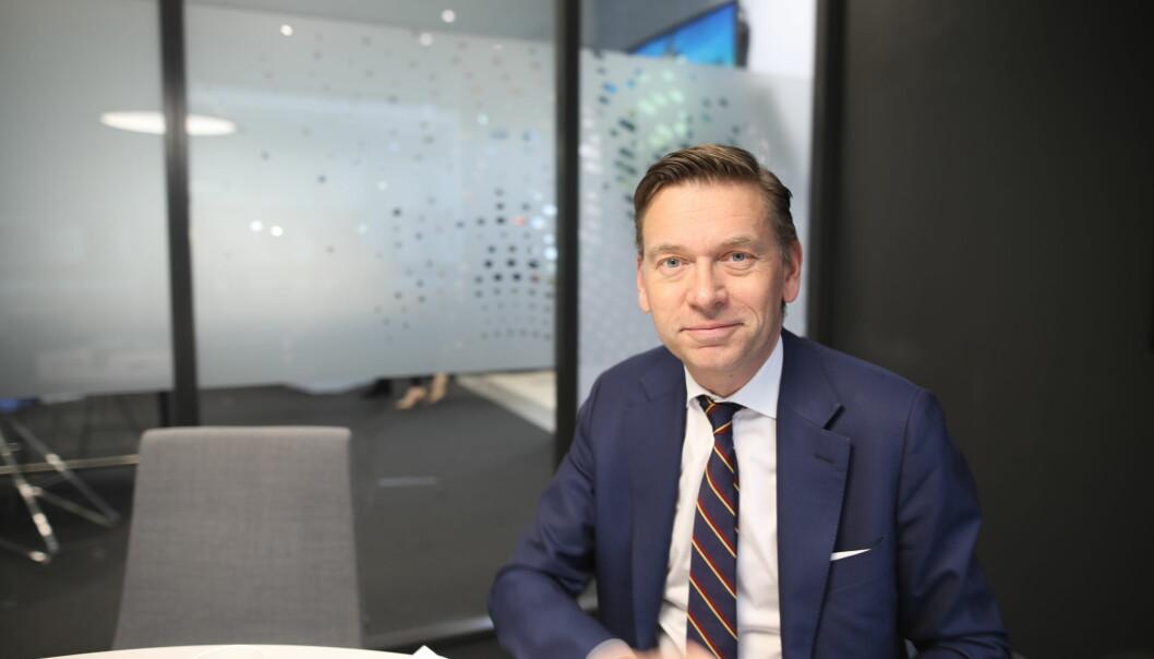 Raoul Grünthal er direktør i Schibsted Next.