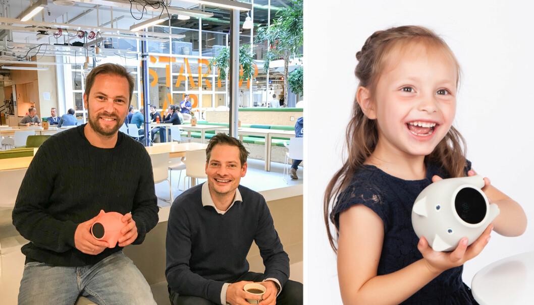 Jens Braathen (daglig leder og gründer) og Kristian Hestmann (produktutvikler) i Nöffe.